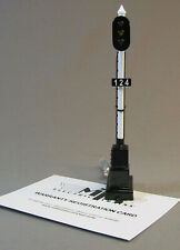 MTH RAILKING O SCALE VERTICAL TRACK SIGNAL LIGHT gauge train sign pole 30-11036