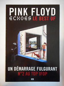 ▓ PLAN MEDIA 4 PAGES ▓ PINK FLOYD : ECHOES ( LE BEST OF )