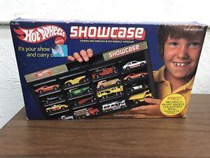 Vintage 1981 Hot Wheels Showcase With Original Box