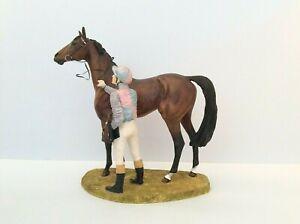 David Geenty  IN THE WINNERS ENCLOSURE  Hamilton Champion Horse & Jockey. 1995