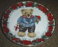 Love Letters From Teddy Franklin Mint Porcelain Plate By Sarah Bengry Limited Ed