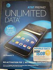New listing Nip At&T Lg Phoenix 4 16Gb Android Smartphone - Black (Lm-X210Apm)