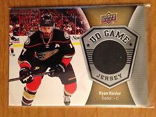 Lot of 47 Ryan Kesler Ducks Canucks hockey cards inserts + GU jersey card