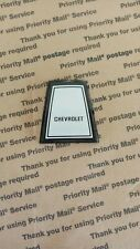 1984 Chevy Caprice Horn Button Cover