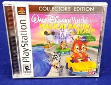 Walt Disney World Quest Magical Racing Tour PS1 PlayStation 1 COMPLETE COLLECTOR