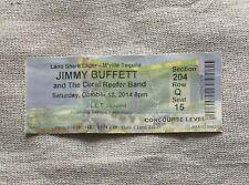 Jimmy Buffett Concert Ticket Stub 10/18/2014 Mgm Grand Garden Arena Las Vegas Nv