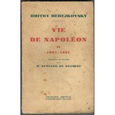 VIE de NAPOLÉON 1807-1821 Le Soir Le Couchant La Nuit Dimitry MEREJKOVSKY 1930