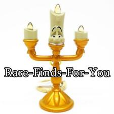 """Disney Parks Beauty and the Beast """"Lumiere"""" Candlestick Figurine Keychain (NEW)"""