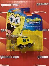 Spongebob Squarepants Hot Wheels 2021 Animation Character Cars Mix P
