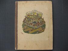 Zigarettenbilder Sammelordner 1934 ,Deutsche Kulturbilder 1400 bis 1900