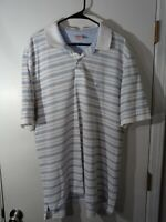 BROOKS BROTHERS ORIGINAL FIT STRIPED SHORT SLEEVE PERFORMANCE POLO MENS XXL