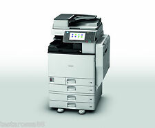 Ricoh MPC 3002 Colour Multifunction with Copy Scan Print & Fax very low prints