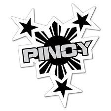 Pinoy Philippines Filipino Sticker Flag Bumper Water Proof Vinyl #6767EN