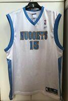 Carmelo Anthony Denver Nuggets #15 Size XL Jersey Reebok NBA Basketball