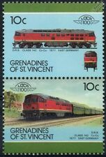 1977 DR Class 130 (DR 142 / DB Class 242) East Germany Train Stamps / LOCO 100