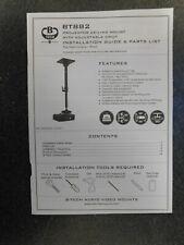 B-TECH BT882/B Universal Projector Ceiling Mount - Brand New