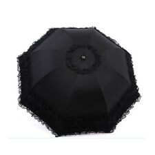 Parasol Sun Umbrella Ladies Women Girls Lace Embroidery Fast And Free Delivery