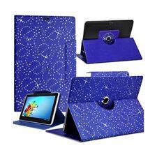 Housse Etui Diamant Universel M couleur Bleu pour Tablette Aoson M787T GPS 3G 7,