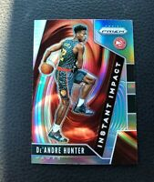 2019-20 Panini Prizm De'Andre Hunter Rookie Instant Impact Silver Refractor
