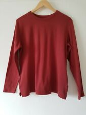 WOMENS LONG SLEEVE TOP COTTON SIZE M 14/16 LEE