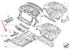 BMW 5 E60 Right Front Seat Console 41117111202 7111202 NEW GENUINE