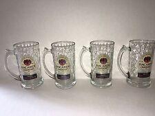 Bacardi Oakheart Glass Mug/Stein (Set of Four)