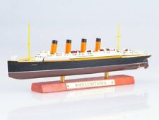 Scale model 1:1250 British transatlantic liner RMS LUSITANIA 1906