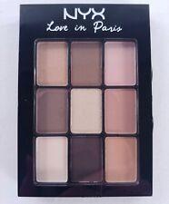 Nyx Love in Paris 9 Color Eye Shadow Palette - Madeleines & Macaroons
