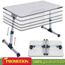 Laptop Stand Tray Holder Adjustable Riser Desk Table for Bed Sofa Folding Legs
