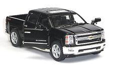 2014 Chevrolet Silverado Sammlermodell schwarz 1:46 von Kinsmart Neuware!
