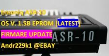 Ensoniq ASR-10 v1.5B EPROM Firmware Upgrade Update [Latest OS]
