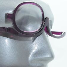 MakeUp Cosmetic Amethyst Purple Reading Glasses Must Have Beauty Product +2.25