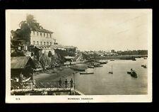 East Africa Kenya MOMBASA Harbour 1932 RP PPC local pub C D Patel