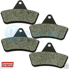 Rear Carbon Brake Pads fit Arctic Cat 250 300 375 400 500 Bearcat 454