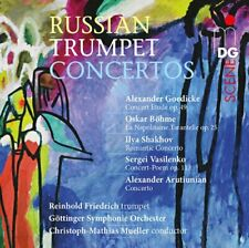 2012 Russian Trumpet Concertos Gottinger Symphonie Orchestra Music SACD Import