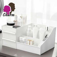 More details for desktop storage box makeup drawers organizer box jewelry container case cosmetic