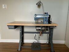 Industrial Singer Professional 20-13 Commercial Sewing Machine W/Clutch Motor