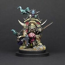 Warhammer 40k Death Guard Lord of Contagion, Converted, assembled and painted