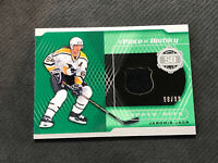 2019-20 SP GAME USED JAROMIR JAGR A PIECE OF HISTORY 50 GOALS JERSEY #ed 98/99