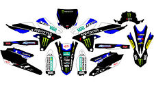 5439 YAMAHA YZ 250F 450F 2014-2016 14-16 DECALS STICKERS GRAPHICS KIT