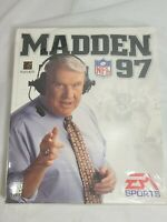 MADDEN 97 NFL Football Game PC 1996  EA Sports Vtg Big Box CIB NEW SEALED.