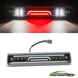 Fit 2015-2018 Chevy Colorado/GMC Canyon Black 3D LED Bar 3RD Third Brake Light