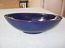 """214 West Deep Blue 10 1/4"""" Bowl"""