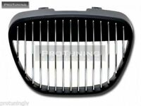 NO LOGO GRILL FOR SEAT IBIZA CORDOBA 6L 02-09 BADGELESS FRONT GRILLE DEBADGED