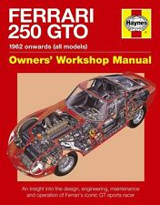 Ferrari 250 GTO (Owners Workshop Manual) Buch book Le Mans LM SWB data numbers