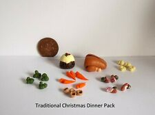 DOLLS HOUSE FOOD - TRADITIONAL CHRISTMAS DINNER PACK