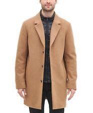 DKNY Mens Coats Deep Brown Size XL Trench Zip-Off-Bib Notched-Lapel $275 083