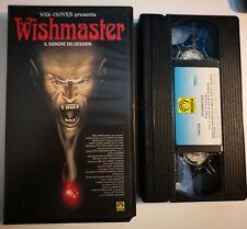 VHS WISHMASTER di Robert Kurtzman [MEDUSA]
