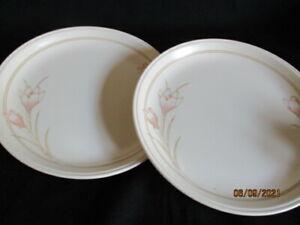 "Biltons Staffordshire Table ware Spring Bouquet design 9.75"" Dinner plates x 2"