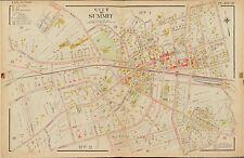 1906 E. ROBINSON, SUMMIT UNION NEW JERSEY KENT PLACE SCHOOL, COPY PLAT ATLAS MAP